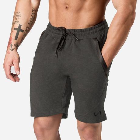 Iron Shorts // Dark Charcoal Heather (S)
