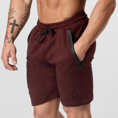 Iron Shorts // Maroon (S)