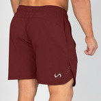 Element Shorts // Maroon (L)