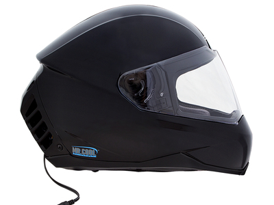 Photo of Feher Air Conditioned Motorcycle Helmets ACH-1 // Air Conditioned Motorcycle Helmet // Gloss Black (XS (6.5 - 6.625)) by Touch Of Modern