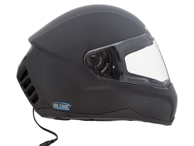Photo of Feher Air Conditioned Motorcycle Helmets ACH-1 // Air Conditioned Motorcycle Helmet // Matte Black (XS (6.5 - 6.625)) by Touch Of Modern
