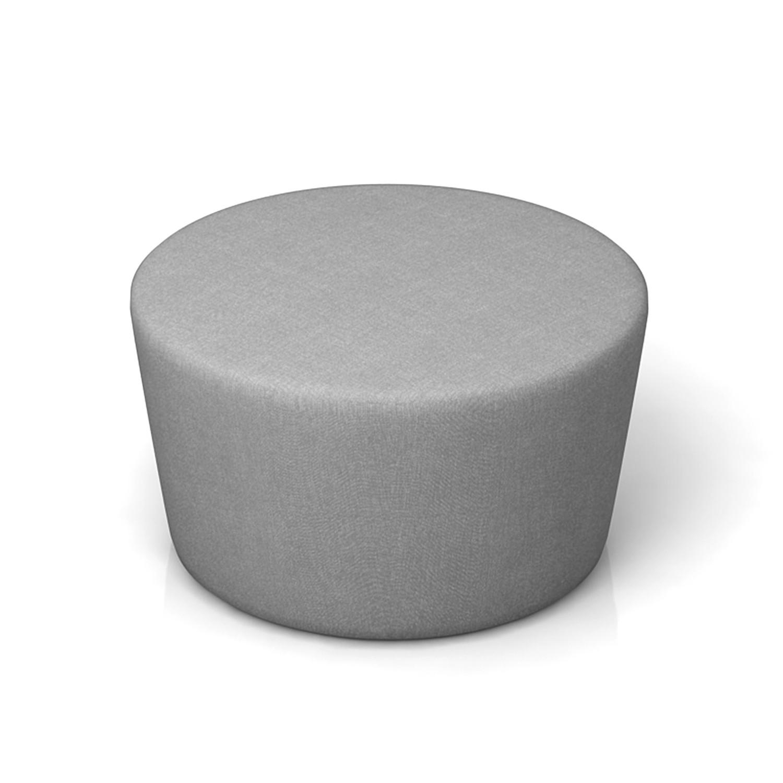 Amazing Round Ottoman Mastro Charcoal Modern Hd Touch Of Modern Ibusinesslaw Wood Chair Design Ideas Ibusinesslaworg