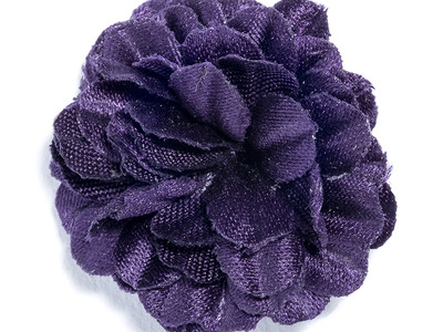 Photo of Hook & Albert Sartorial Suiting Accessories Mini Small Lapel Flower // Purple by Touch Of Modern
