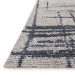 """Discover Rug // Gray + Charcoal (3' 6"""" x 5' 6"""")"""
