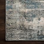 """Cascade Rug // Ocean + Gray (2' 7.2"""" x 4')"""