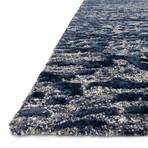 """Juneau Rug // Steel + Blue (7' 9.6"""" x 9' 9.6"""")"""