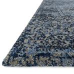 "Viera Rug // Light Blue + Gray (2' 4.8"" x 7' 7.2"")"