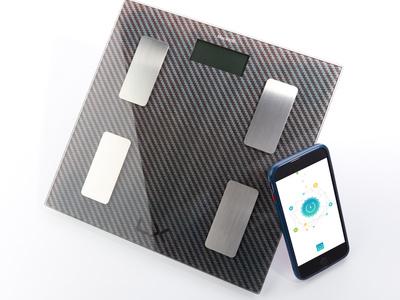 BMI WiFi Scale + Smartphone App