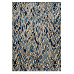 "Dreamscape Rug // Artic Blue + Silver (2' 3.6"" x 8')"