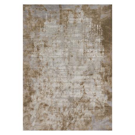 "Patina Rug // Wheat + Gray // Large (9' 6"" x 13')"