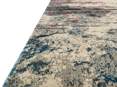 "Photo of LOLOI  Handmade Abstract Rugs Dreamscape Rug // Drizzle + Fuchsia // 9' 2.4"" x 13' by Touch Of Modern"