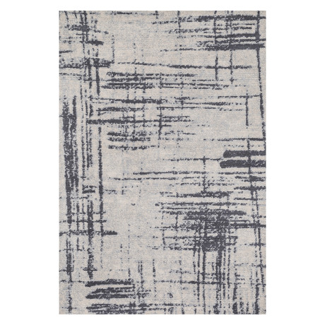 "Discover Rug // Gray + Charcoal // 9' 3.6"" x 13'"