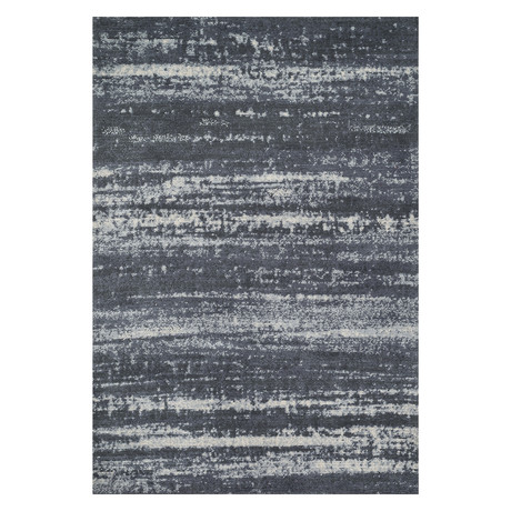 "Discover Rug // Charcoal // 9' 3.6"" x 13"""