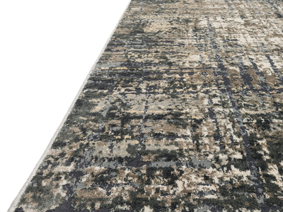 """Photo of LOLOI  Handmade Abstract Rugs Cascade Rug // Marine + Grey // Large (9' 6"""" x 13') by Touch Of Modern"""