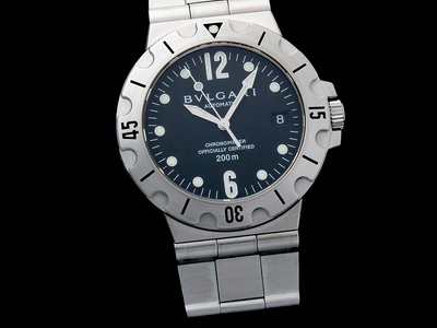 Photo of Prominent Timepieces Astoundingly Stylish Watches Bulgari Scuba Date Automatic // SG38 // Pre-Owned by Touch Of Modern