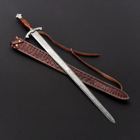 Damascus Viking Sword // 9263