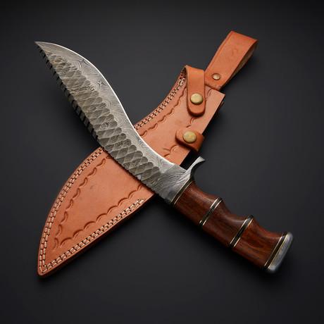 Damascus Kukri Knife // BK0265