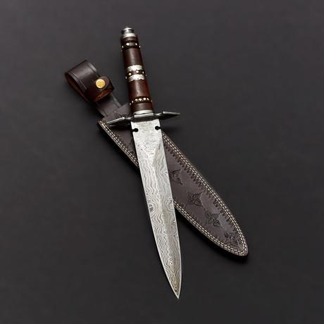 Damascus Fancy Dagger