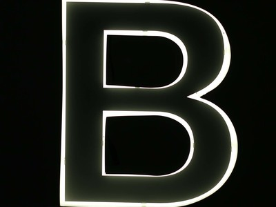 Photo of iLute Illuminated Marquee Letters Quizzy // Neon Style Letter // B by Touch Of Modern