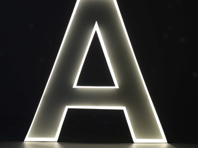 Photo of iLute Illuminated Marquee Letters Quizzy // Neon Style Letter // A by Touch Of Modern
