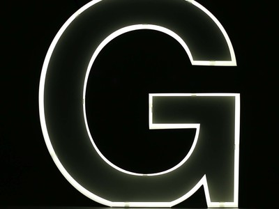 Photo of iLute Illuminated Marquee Letters Quizzy // Neon Style Letter // G by Touch Of Modern