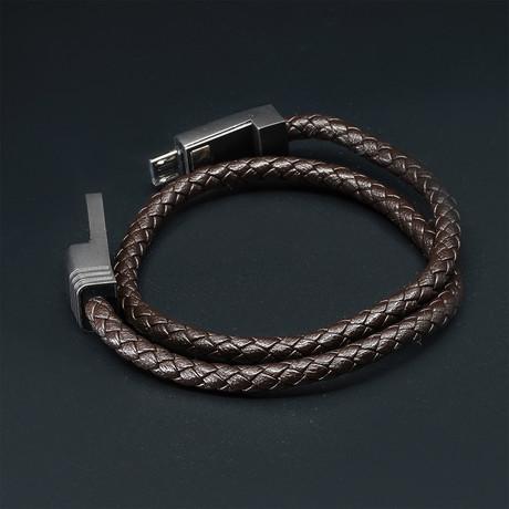 NILS Duo // Dark Chocolate // Micro USB (S)