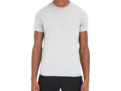 Photo of EFM Contemporary Active Street Style Wickwar Short Sleeve Crew Neck T-Shirt // Heather Gray (S) by Touch Of Modern