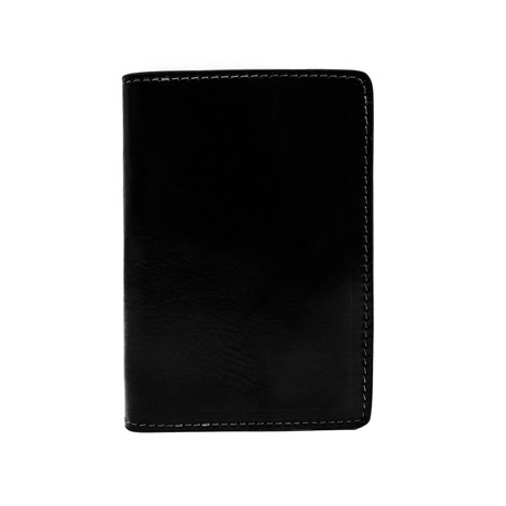Gulliver's Travels // Leather Passport Holder // Black