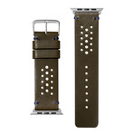 Heritage Watch Strap // Olive (38-40mm)