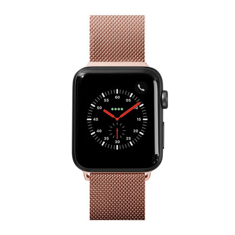 Steel Loop Watch Strap // Rose Gold // 38-40mm
