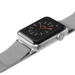 Steel Loop Watch Strap // Silver (38-40mm)