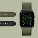 Technical Watch Strap // Military Green // 38-40mm