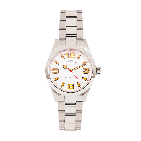 Bernhardt Binnacle Anchor III Automatic // ANCHIIIWHT