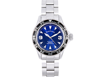 Photo of Bernhardt Proven Timepieces Bernhardt Binnacle Diver Automatic // BINNDVRBLU by Touch Of Modern