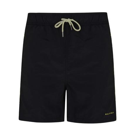 Babin Swim Shorts With Stripe // Black (S)