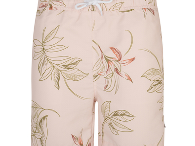 Photo of Bellfield Essential British Style Turek Floral Print Swim Shorts // Pink (S) by Touch Of Modern