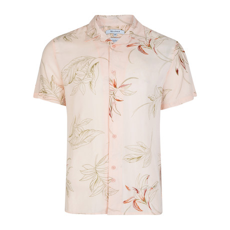 Venus Short-Sleeve Shirt // Washed Pink (L)