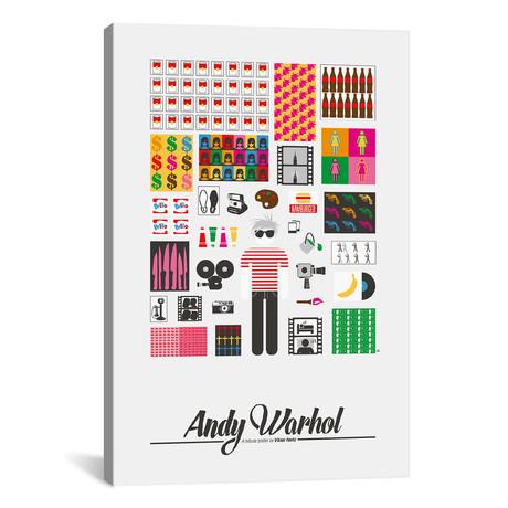 "Andy Warhol // Viktor Hertz (18""W x 26""H x 0.75""D)"
