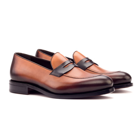 Loafer // Dark Brown + Cognac (US: 6)