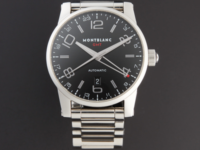 Photo of Outstanding Timepieces Noteworthy Luxury Watches Montblanc Timewalker GMT Automatic // 36064 // Pre-Owned by Touch Of Modern