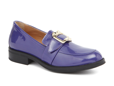 Photo of Love Moschino Designer Women's Shoes Patent Slip-On // Violet (IT: 35) by Touch Of Modern