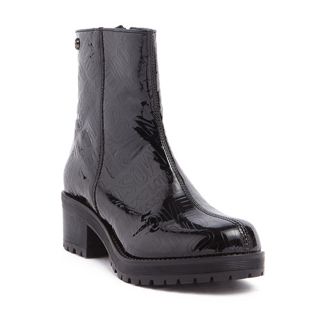 Laminated Logo Ankle Boot // Black (IT: 35)