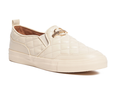 Photo of Love Moschino Designer Women's Shoes Leather Quilted Slip-On Sneaker // Avor (IT: 37) by Touch Of Modern