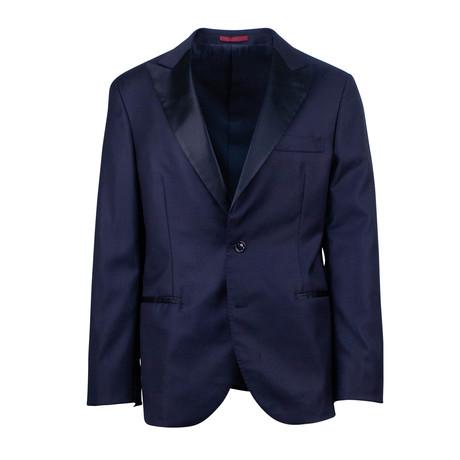 Brunello Cucinelli // Wool Tuxedo // Navy Blue (Euro: 48)