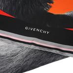 Givenchy // Silk Bird Scarf // Black