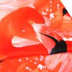 Flamingos Scarf // Pink