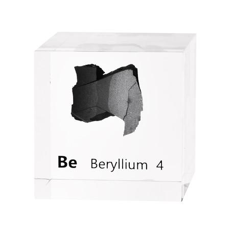 Lucite Cube // Beryllium