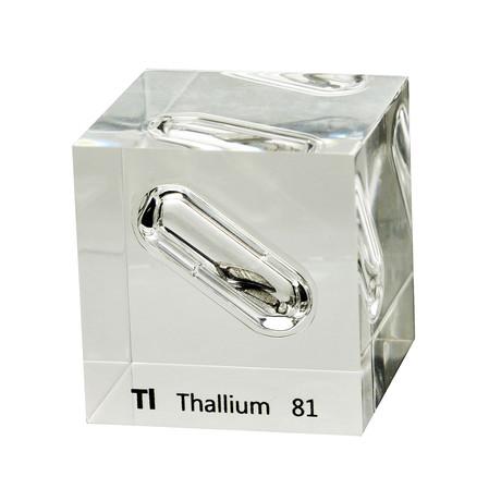 Lucite Cube // Thallium