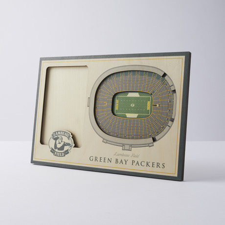 Green Bay Packers 3D Picture Frame