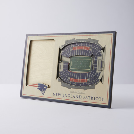 New England Patriots 3D Picture Frame